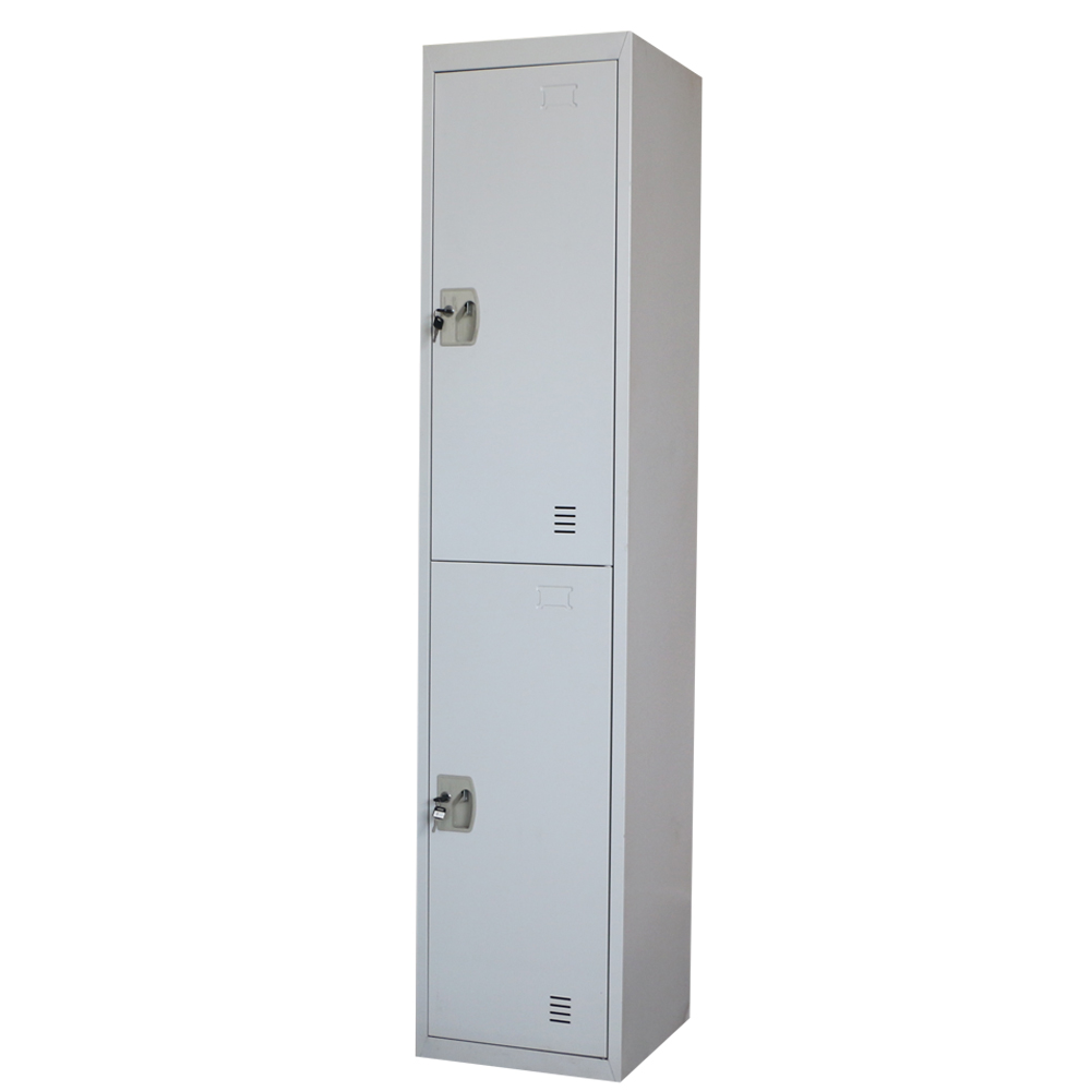 Professional supplier YUHUA office furniture two doors steel wardrobe