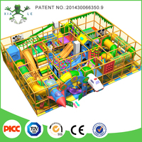 Wenzhou Manufacturer Kids Soft Plays Fitness Equipment Multifunctional Equipment Naughty Fort Indoor Playground for Sale