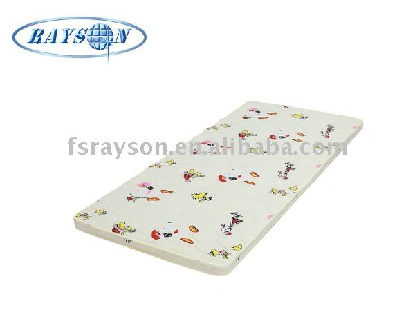 Colorful Printing Pocketed Spring Baby Mattress