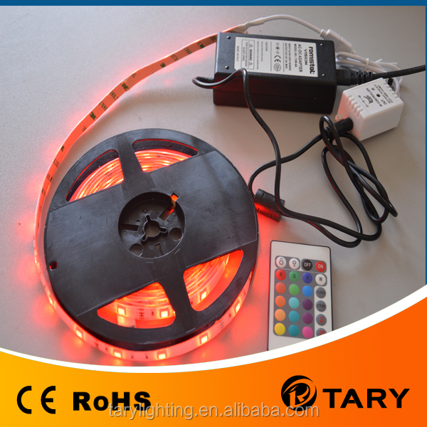 led strip light 5050 60d rgb 12v led strip (CE RoHS)