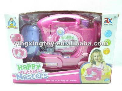 plastic electric household toy play set