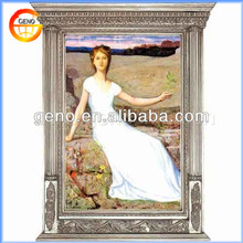 Fashion Resin Oil Paintings Picture Frame