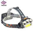 Super Bright Waterproof 6 Modes LED Headlamp Flashlight USB Rechargeable running head lamp