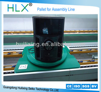 Pallets for assembly line, tooling plate, home appliance like air conditioner,tv,monitor,audio,single floor,double floor