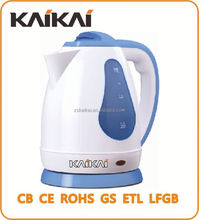 China supplier 1.8L spay color handle electric kettle
