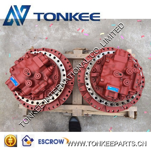 EC360BLC SK250-8 ZX200 PC200-8 final drive hydraulic excavator travel motor for SUMITOMO KYB KOBELCO HITACHI