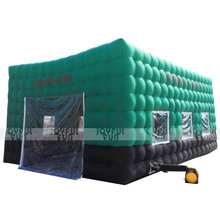 Promotional customized attractive price 15*7*5m/ ft square big inflatable oxford tent