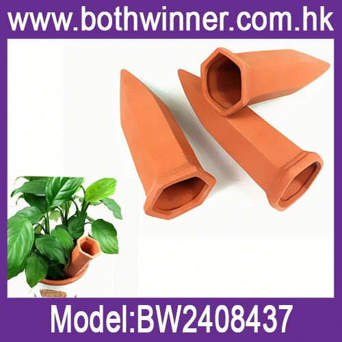 Garden terracotta watering spike ,h0tyx garden watering cone for sale