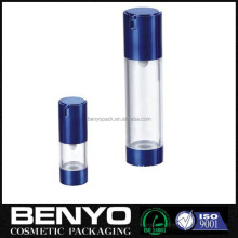 50ml luxury AS clear cosmetic airless bottle packaging