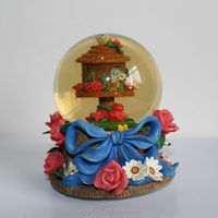 wholesale polyresin crystal ball decoration,home decoration,holiday gift with factory OEM/ODM