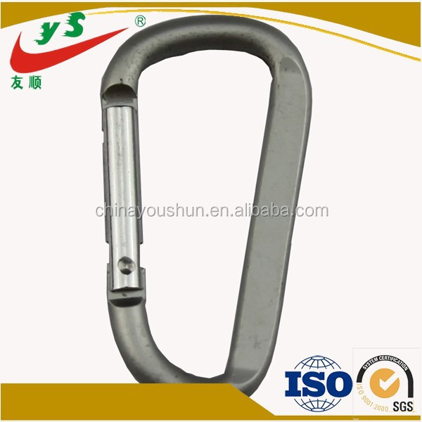 2015 Alibaba Sales Winner Grey Various Shapes Customized Karabiner
