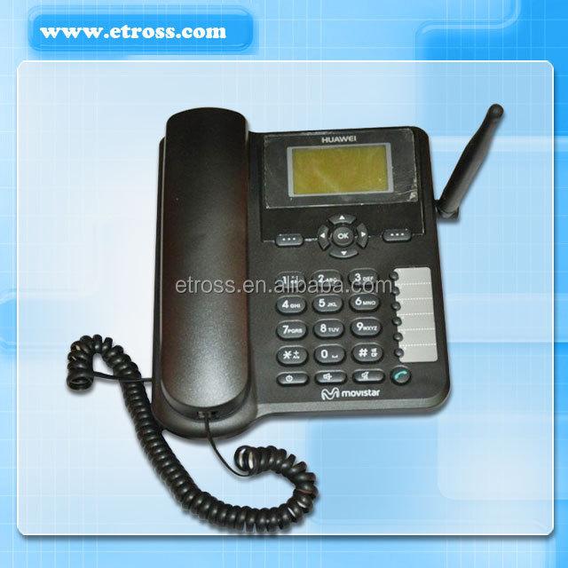 3G/GSM/GPRS fixed wireless desktop phone/ FWP (HUAWEI ETS6630) Provide alarm clock, calendar, calculator, world clock