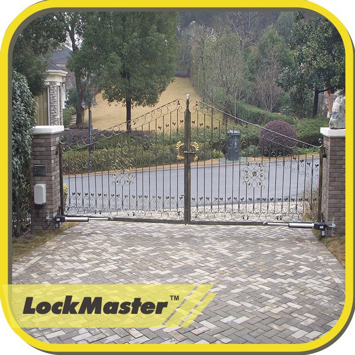 CE/EMC/RoHS Approved Lockmaster Dual Arms Automatic Gate Openers