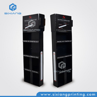 Advertising Equipment Standing Retail Cardboard Retail Cardboard Display Shelf