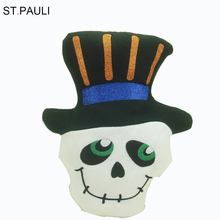 animated skeleton design indoor fabric halloween props from china