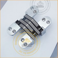 soss hige Heavy Duty 4-5/8 inch Invisible Hinge Wood Or Metal Application