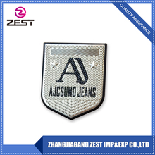 China Clothes Tag Leather Label Custom