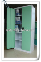 KFY-CB-16 Green Steel 2 Door Decorative Bookcase
