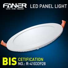 China manufacturer first brand Supplier flat circle led light panel with high quality