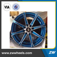 ZW-Z218 2015 Made In China Car Wheel, Hot Sale Customized Aluminum Alloy Wheel