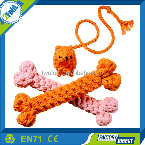 Rope Knot Ball Squeaky Pet Shop Products