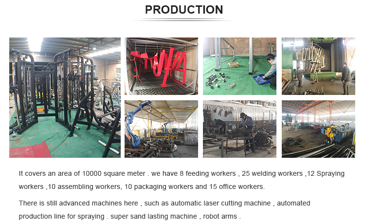 fitness body building machine integrated gym equipment  for sale