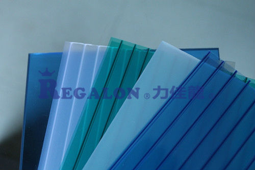 PC Roofing hollow Sheet 4/6/8/10mm Transparent sheet
