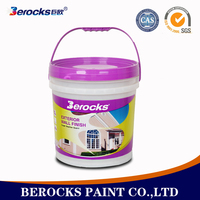 Berocks waterproof latex paint coating for office wall paint colors