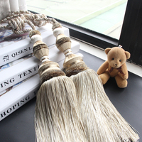 Polyester Material Tieback Tassel Used For Curtain Accessories