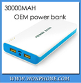 Power Bank 30000 mAh USB -powered mobile power