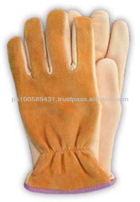 Leather Working Gloves made of cow Leather / Leather Gloves in Sialkot