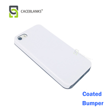 head factory sublimation case supplier leading on 3d film sublimation bumper phone case in matte or glossy for iphone5