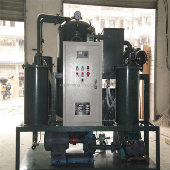 china insulation oil two-stage high vacuum oil purifier