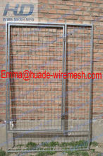 Hot dipped galvanized 1.8x1.2m Pet Cages/ Metal Dog Kennel
