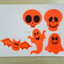 Halloween safety stickers reflective safety sticker