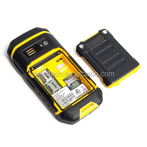 Alps X6 IP68 Waterproof Rugged Phone with UHF Walkie Talkie Function