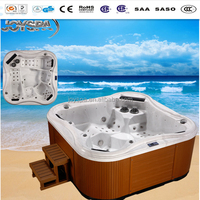 Super luxury massage for 5 person use spa bath outdoor