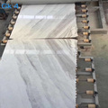 Bookmatched volakas white slab