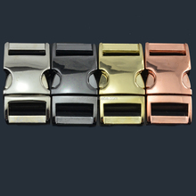 wholesale alibaba camping equipment New colorful metal buckle metal side release buckle for bracelet paracord survival bracelet