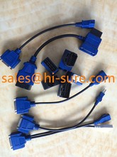 DB15P TO TOYOTA/MAZDA17P GM12P VW/AUDI2P CABLE