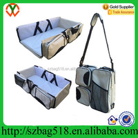 China Wholesale Portable Baby Travel Bassinet Diaper Mummy Bag