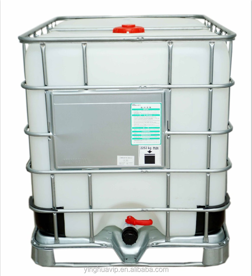 1000 litres IBC tanks for industrial packaging of chemicals and hazardous material