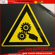 Custom Printing Self Adhesive Label Die Cut Stickers Die Cut Pvc Vinyl Stickers Logo Safety Warning Labels