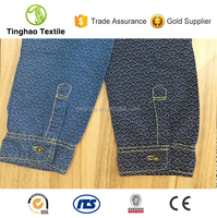 Light Weight And Thin Pure Cotton Denim Fabric