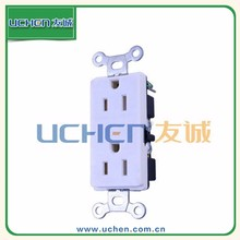 YGB-047 NEMA 5-15 TR Receptacle/nema 5-15 15a plug brazil waterproof EV industrial socket single phase pin