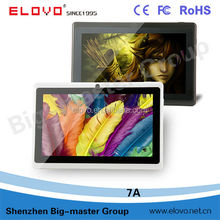 7 inch A13 android 4.0 zinc tablets pc different Various of tablet pc for your choice