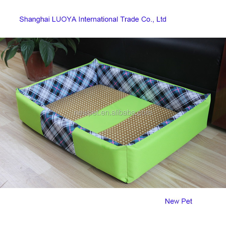 China-made low price washable square bed dog beds wholesale rattan furniture