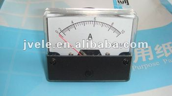 TO supply ammeter and voltmeter