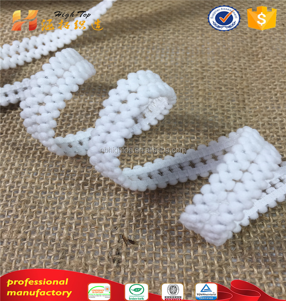 New Arrival White HIGHTOP elastic lace trimming band underwear,Jacquard elastic webbing