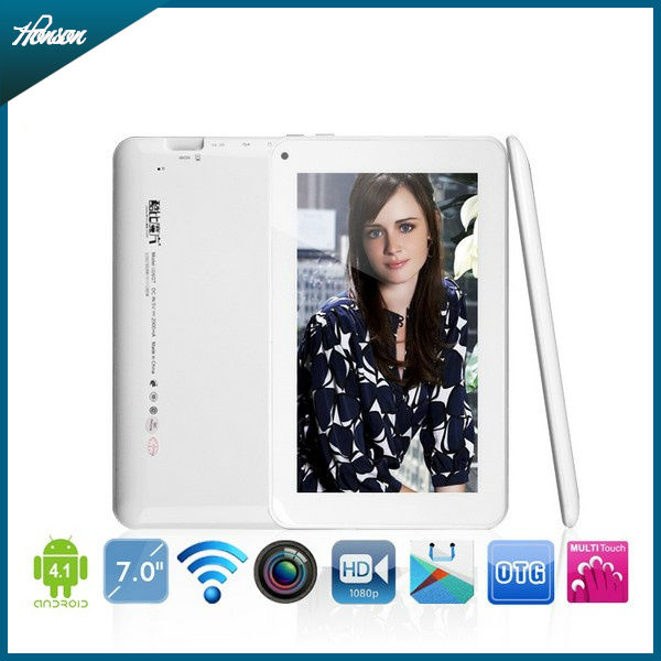 Cheap 7 inch Rockchip RK2928 Android 4.1 Tablet Cube U26GT